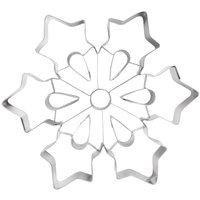Ateco 14429 8 inch Stainless Steel Snowflake Cookie Cutter