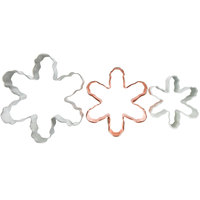 Wilton 2308-0570 3 Piece Snowflake Cookie Cutter Set