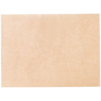 Baker's Mark 12 inch x 16 inch Half Size Unbleached Quilon® Coated Parchment Paper Bun / Sheet Pan Liner Sheet - 1000/Case