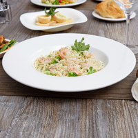 Arcoroc R0809 Candour 18.5 oz. White Porcelain Pasta Bowl by Arc Cardinal - 12/Case
