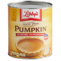 Libby's 100% Pure Canned Pumpkin #10 Can - 6/Case