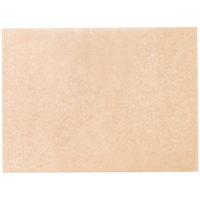 """Baker's Mark PanPal 12"""" x 16"""" Half Size Unbleached Quilon&#174&#x3b; Coated Parchment Paper Bun / Sheet Pan Liner Sheet - 100/Pack"""