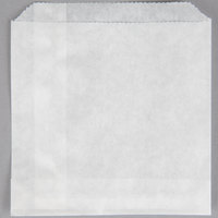 Carnival King 4 1/2 inch x 4 1/2 inch Medium French Fry Bag - 500/Pack