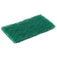 Scrubble By ACS 96-050 6 inch x 3 1/2 inch Green General Purpose Scouring Pad   - 60/Case