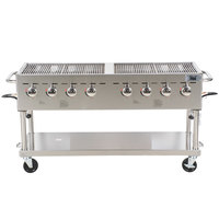 "Backyard Pro C3H860 60"" Stainless Steel Outdoor Grill"