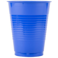 Creative Converting 28314781 16 oz. Cobalt Blue Plastic Cup - 240/Case