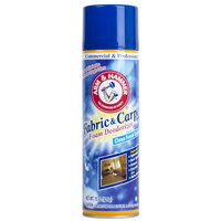 Arm & Hammer 15 oz. Fabric and Carpet Foam Deodorizer Spray - 8/Case