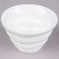 10 Strawberry Street P4303 Izabel Lam Ripples 6 oz. Bright White Porcelain Sorbet Cup - 12/Case