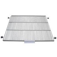 True 908813 White Coated Wire Shelf with 5 inch Standoff - 17 1/4 inch x 22 3/8 inch