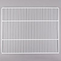 True 908755 White Coated Wire Shelf with 5 inch Standoff - 22 7/8 inch x 18 1/4 inch