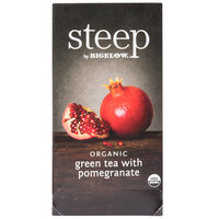 Steep By Bigelow Organic Green Tea with Pomegranate - 20 / Box