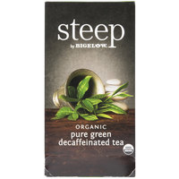 Steep By Bigelow Organic Pure Green Decaffeinated Tea - 20 / Box