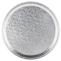 12 inch Round Foil Catering Tray - 25/Case