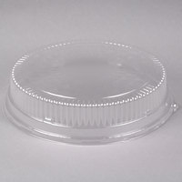 Durable Packaging 16DL-25 16 inch Clear Plastic Round High Dome Lid - 25/Case