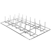 Rational 6035.1019 12 inch x 20 inch Potato Baker with 28 Spikes