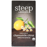 Steep By Bigelow Organic Chamomile Citrus Tea - 20 / Box