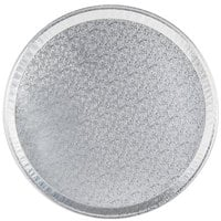 18 inch Round Foil Catering Tray - 25/Case