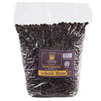 Crown Beverages 2 lb. Royal Reserve Guatemalan Dark Roast Whole Bean Coffee - 5/Case