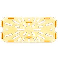 Carlisle 3087013 1/3 Size Amber High Heat Drain Tray
