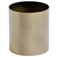 Sterno Products 85236 2 5/8 inch x 3 inch Weathered Brass Metal Lamp Base