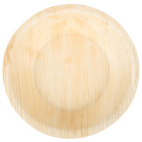 TreeVive by EcoChoice 6 inch Round Deep Palm Leaf Plate - 100/Case