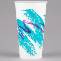 Dart Solo RP28NP-00055 Jazz 28-32 oz. Poly Paper Cold Cup - 480/Case