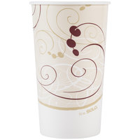 Dart Solo RP32NP-J8000 Symphony 32-35 oz. Poly Paper Cold Cup - 40/Pack
