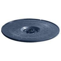 Carlisle 070714 Blue Lift-Off Replacement Lid for 071714 12 inch Tortilla Server - 6 / Case
