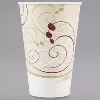 Solo RP12NP-J8000 Symphony 12 oz. Poly Paper Cold Cup - 100/Pack