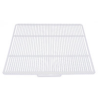 True 912297 White Coated Wire Shelf - 19 1/2 inch x 18 inch