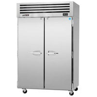 Turbo Air PRO-50R 52 inch Premiere Pro Series Two Section Solid Door Reach in Refrigerator - 49 Cu. Ft.