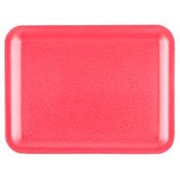 Genpak 1020S (#20S) Foam Meat Tray Rose 8 1/2 inch x 6 1/2 inch x 1/2 inch - 500/Case
