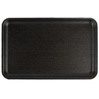 CKF 87816 (#16S) Black Foam Meat Tray 11 3/4 inch x 7 1/2 inch x 5/8 inch - 250/Case