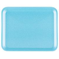 Genpak 1008S (#8S) Foam Meat Tray Blue 10 1/4 inch x 8 1/4 inch x 1/2 inch - 500/Case