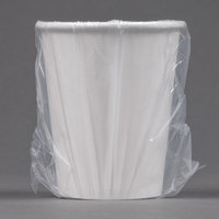 Solo W370RC Hotel and Motel 10 oz. Individually Wrapped Paper Hot Cup - 480/Case