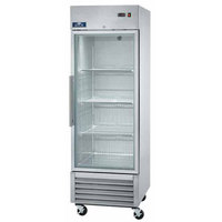 Arctic Air AGR23 27 inch One Section Glass Door Reach-In Refrigerator - 23 cu. ft.