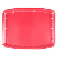 CKF 88089 Rose Foam Meat Tray 16 inch x 12 inch x 5/8 inch - 100/Case