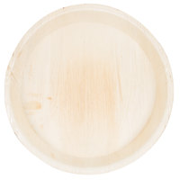 TreeVive by EcoChoice 12 inch Round Deep Palm Leaf Plate   - 25/Pack
