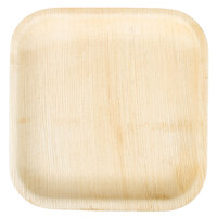 EcoChoice 10 inch Square Palm Leaf Plate - 25 / Pack