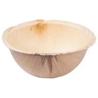 TreeVive by EcoChoice 16 oz. 6 inch Round Palm Leaf Bowl - 25/Pack