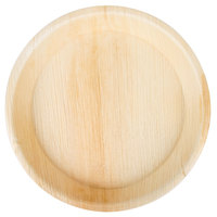 TreeVive by EcoChoice 10 inch Round Deep Palm Leaf Plate - 25/Pack