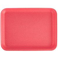 CKF 88070 (#20S) Rose Foam Meat Tray 8 3/4 inch x 6 1/2 inch x 3/4 inch - 125/Pack