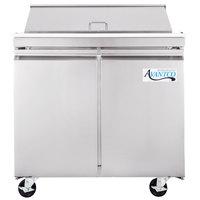 Avantco SCL2-36 36 inch 2 Door Refrigerated Sandwich Prep Table