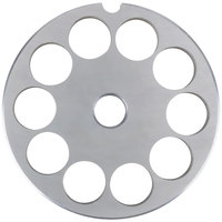 Globe L00775 #12 Meat Grinder Plate - 9/16 inch