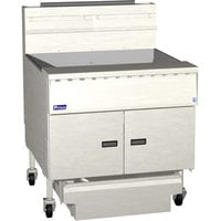 Pitco® SGM24-SSTC MegaFry Liquid Propane 140-150 lb.Floor Fryer with Solid State Thermostatic Controls - 165,000 BTU