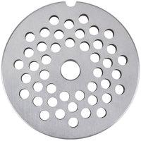 Globe L00480 #22 Meat Grinder Plate - 1/4 inch