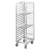 Channel AXD1815 15 Pan End Load Bun / Sheet Pan Rack - Assembled
