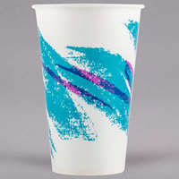 Solo R12N-00055 Jazz 12 oz. Wax Treated Paper Cold Cup - 2000/Case