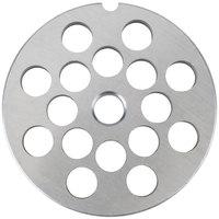 Globe L00780 Equivalent #22 Meat Grinder Plate - 1/2 inch