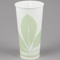 Bare by Solo RS22BB-JD110 Eco-Forward 22 oz. Wax Treated Printed Paper Cold Cup - 1000/Case